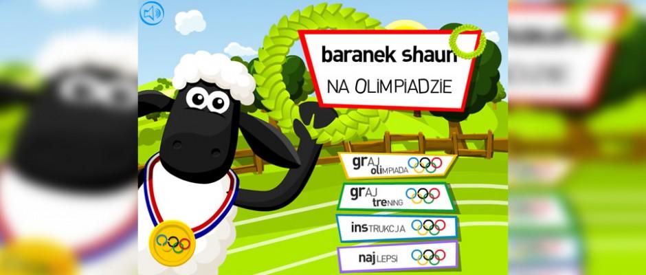 Baranek Shaun na Olimpiadzie to gra dla użytkowników TeleToon+. Na grę składa się kilka dyscyplin sportowych, między innymi: bieganie, skok w dal, skok o tyczce czy pchnięcie kulą. Na dzień dzisiejszy, jest to najpopularniejsza gra na stronie TT+.