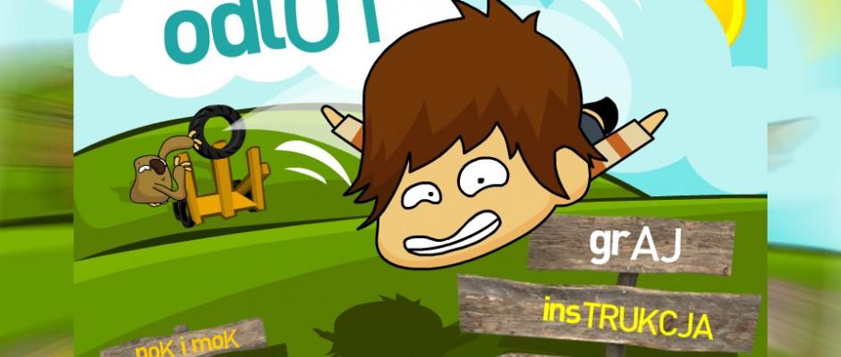 Gra Pok i Mok Odlot z bohaterami o tym samym tytule, została wyprodukowana na potrzeby strony internetowej kanału TeleToon+. Zadaniem gracza jest dolecieć jak najdalej i zebrać po drodze jak najwięcej rzeczy, które następnie może wykorzystać do ulepszenia swojej wyrzutni czy zakupienia rzeczy, które pomogą polecieć dalej.