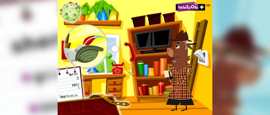 Przygodowa gra Sherlock Jak dla użytkowników strony TeleToon+.