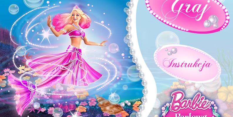 Gra Barbie Perłowa Księżniczka dla najmłodszych graczy z MiniMini+, którzy mogli udekorować swoją ulubioną lalkę elementami, które zebrali w pierwszym etapie gry. Gra wykorzystuje technologię Flash oraz język ActionScript.