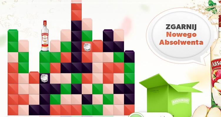Gra Zgarnij Nowego Absolwenta wykonana w technologii html5 i zintegrowana z Facebook API, pozwalała graczom walczyć przez kilka tygodni o nagrody. Zadaniem gracza było sprowadzenie butelek do dołu przy jednoczesnym usunięciu z planszy jak największej liczby elementów. Każdy gracz miał ograniczoną liczbę zagrań w ciągu danego dnia, która była zależna[...]