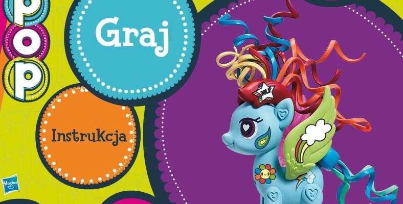 Gra MLP Zaprzyjaźnij się z kucykiem to gra promująca nową serię kucyków My Little Pony. Zadaniem gracza jest złapać wybranego kucyka, a następnie pokolorować i udekorować go, by wziąć udział w konkursie z nagrodami. Praca zostaje zapisana na serwerze, by następnie być poddana pod ocenę.